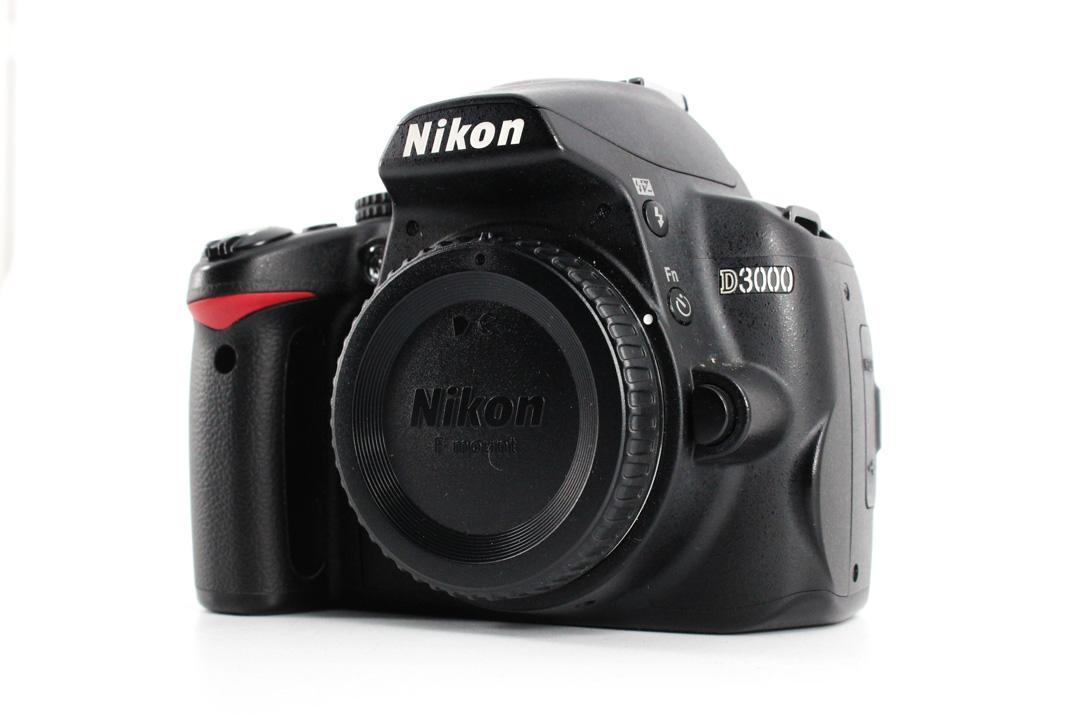 cheapest dslr cameras d3000 front image