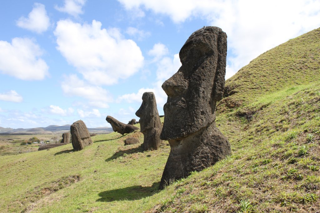 easter island statue image