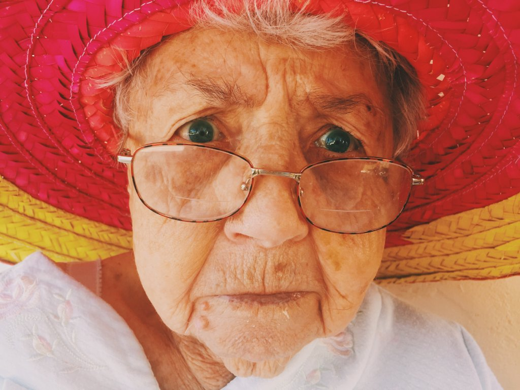 cute old people image
