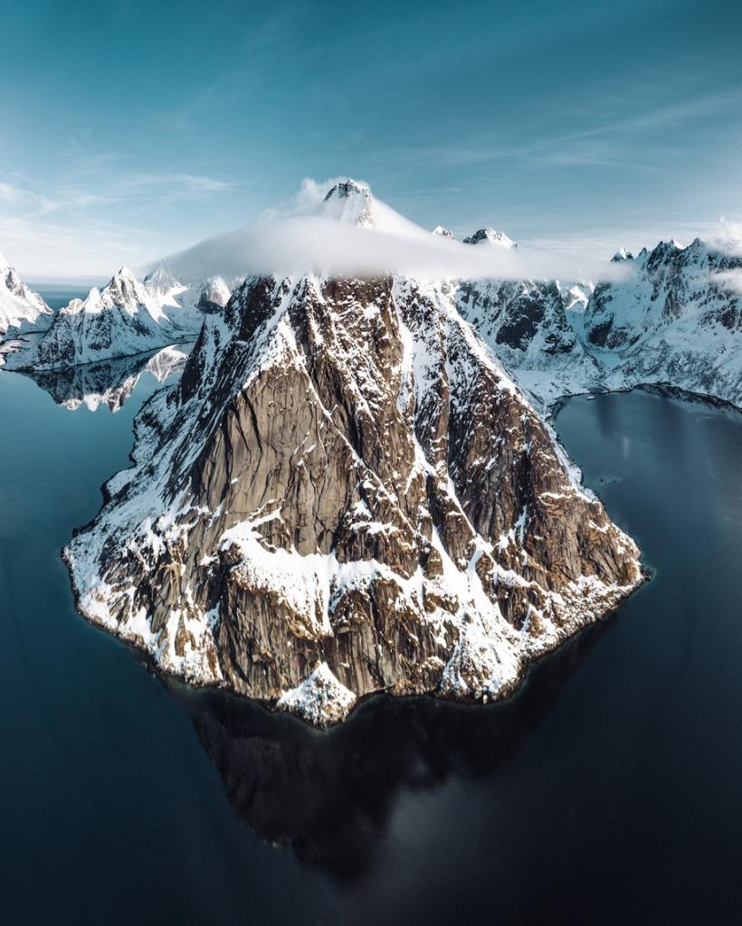 mountain fine art photography telephoto 2 image