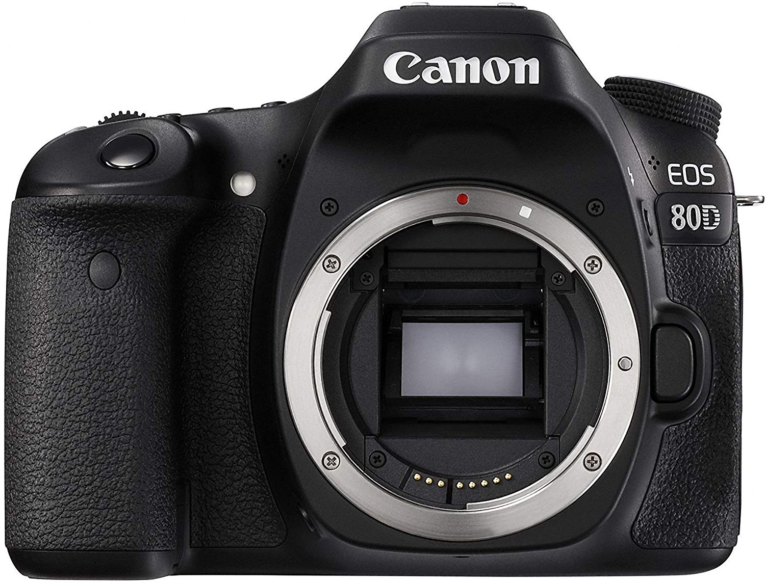 canon eos 80d front image