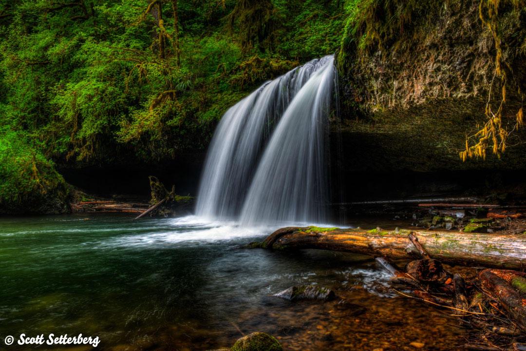 Butte Creek Falls image