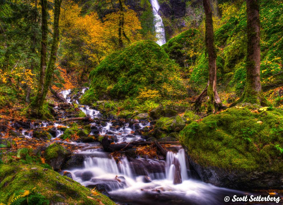 Oregon Photography Workshops Starvation Creek image