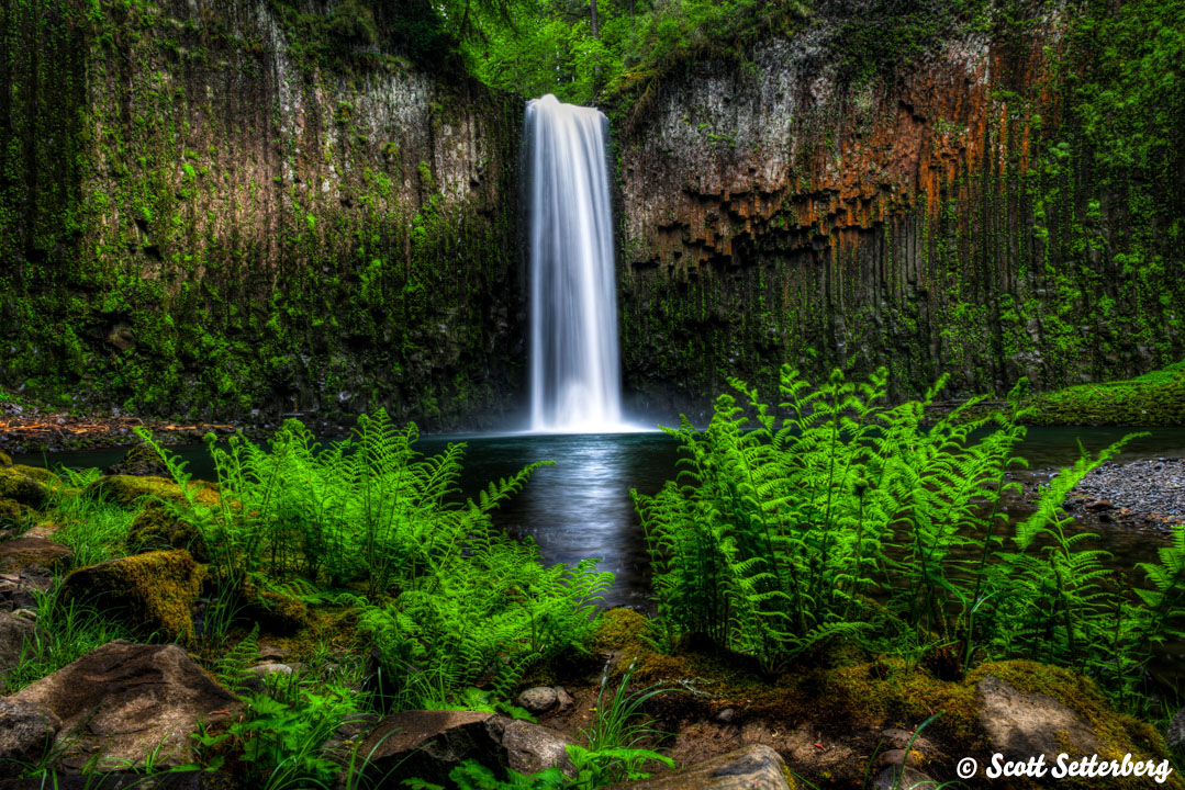 Photographing Oregon Abiqua Falls image