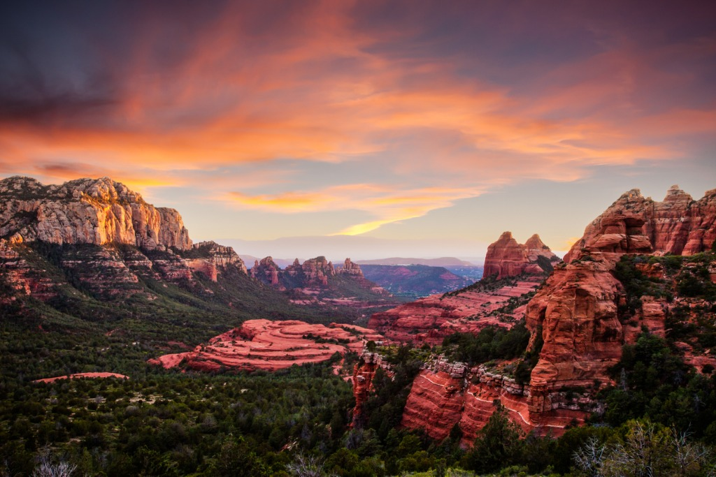 what to photograph in sedona sunsets 1 image