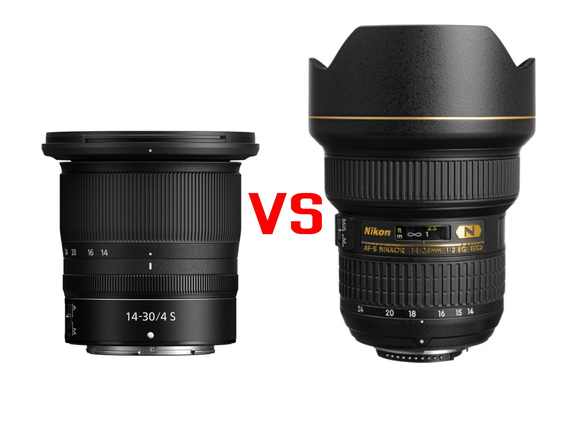 nikon 14 30mm f4 vs nikon 14 24mm f2.8 image