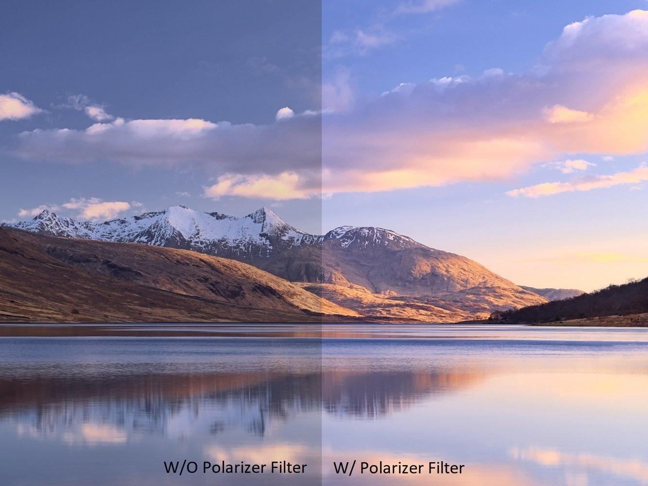 polarizing filter image