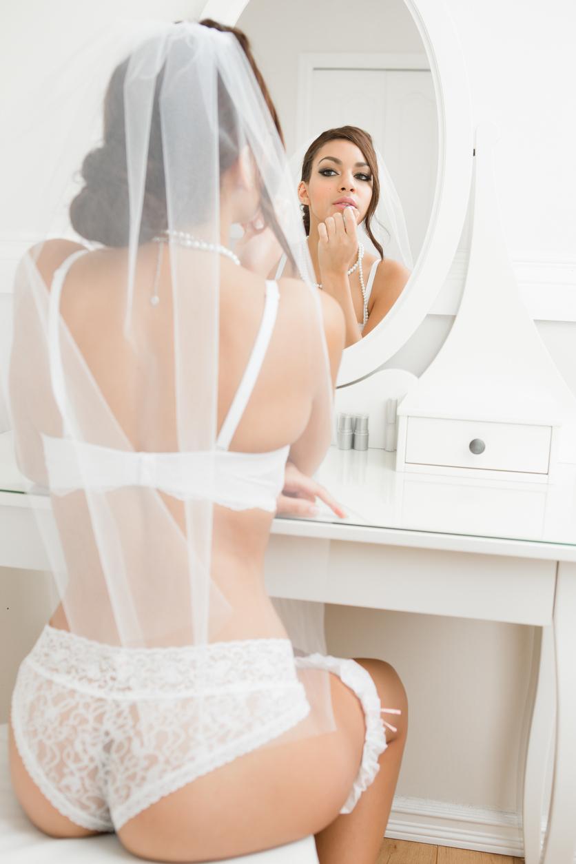 boudoir makeup image