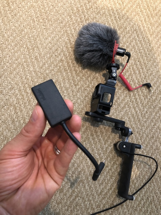 top gopro accessories for video creators 3.5mm adapter
