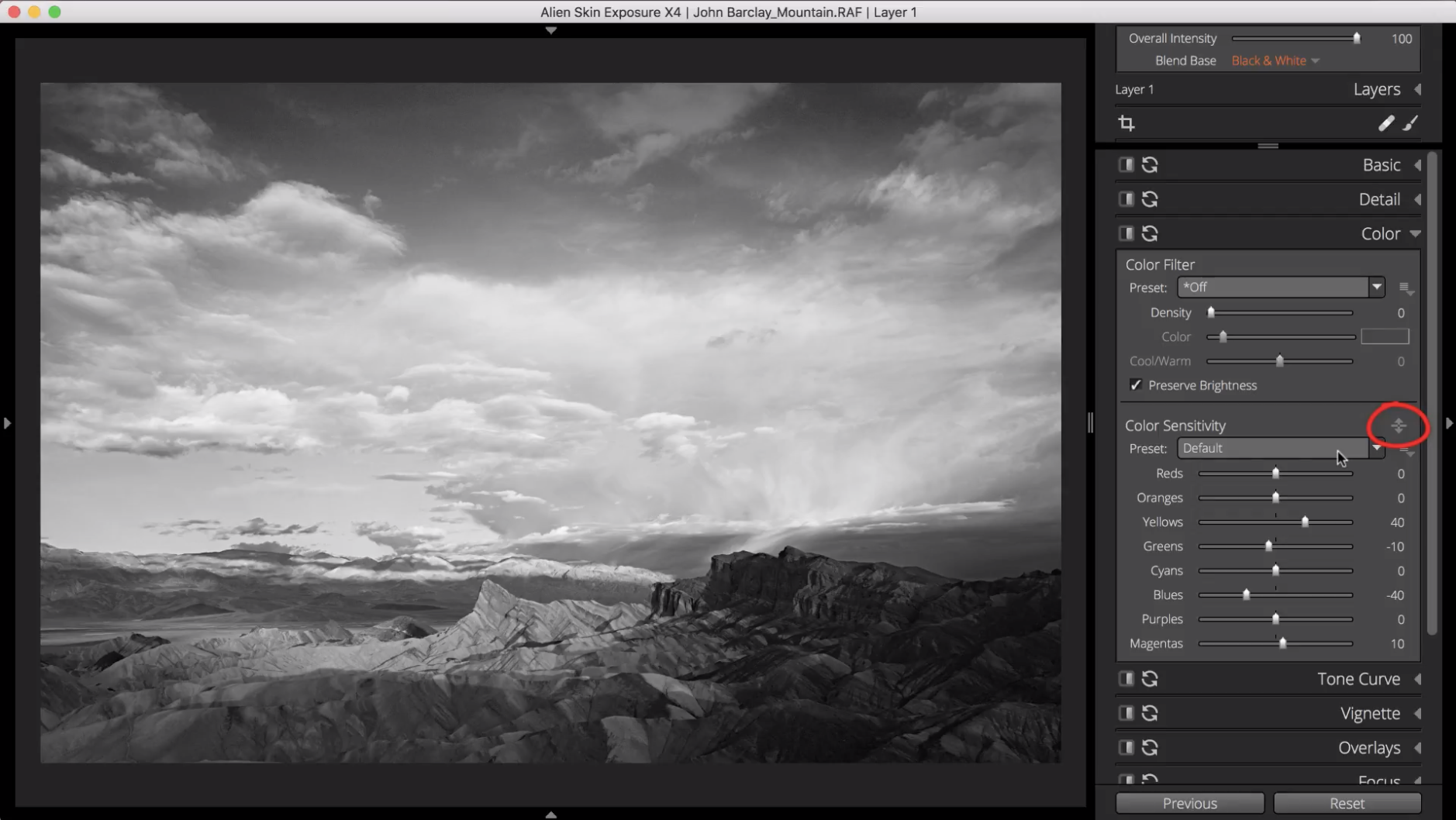 convert an image to black and white step 3.3 image