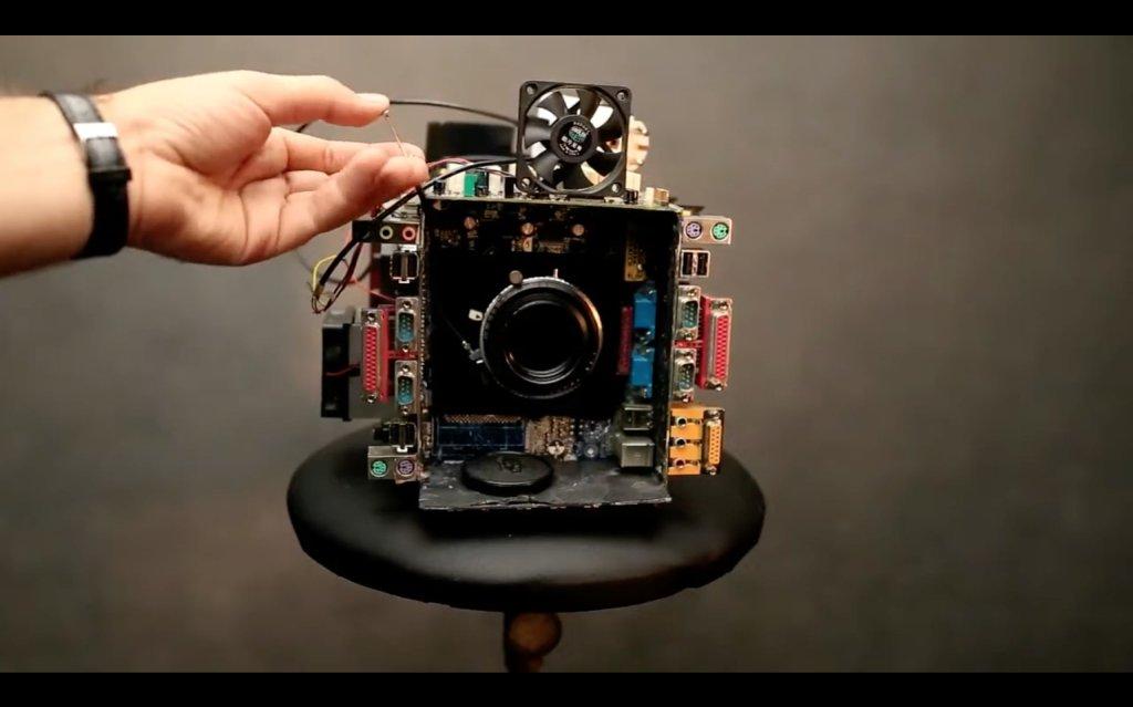 how to build a camera image