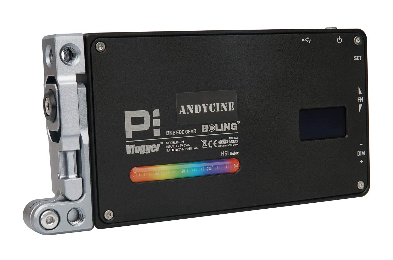 Best Photography Lighting Equipment ANDYCINE Portable Boling P1 RGB Video Light image