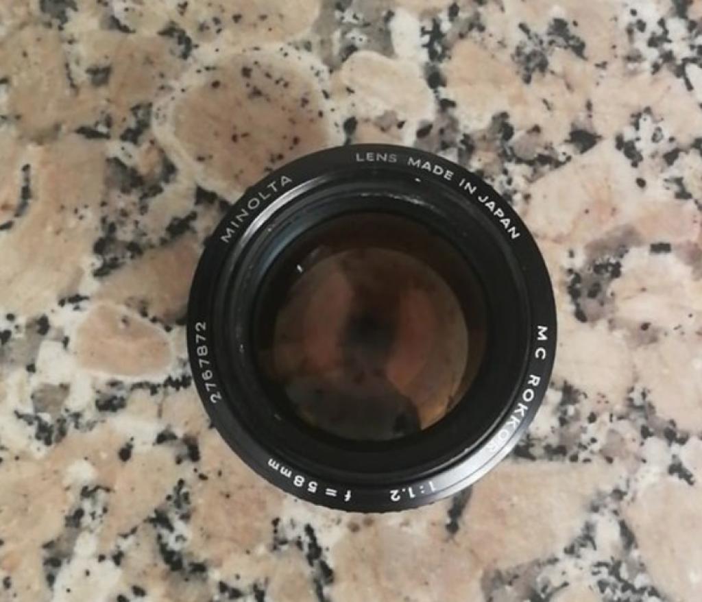 vintage lens 1 image