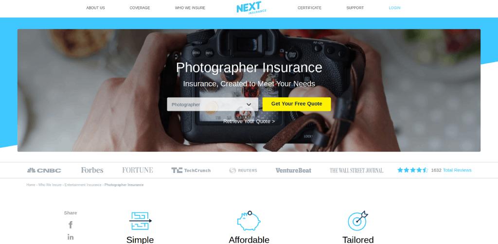 best photography insurance companies next insurance