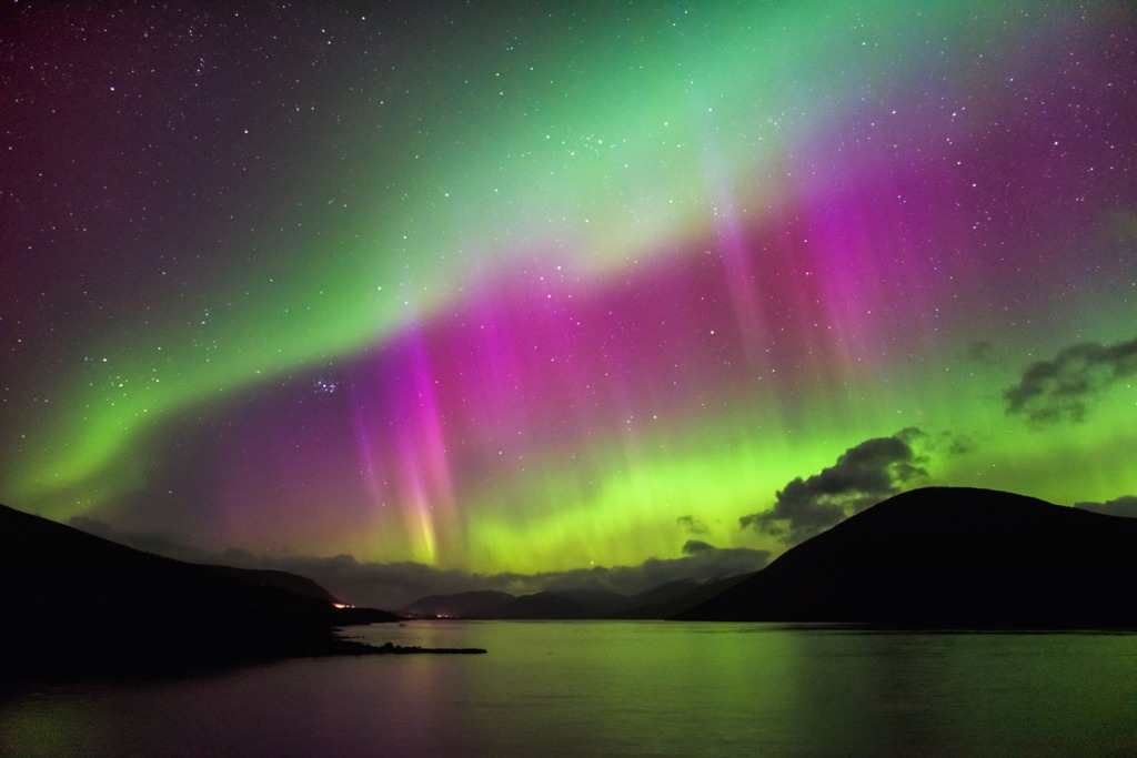 Where to See the Northern Lights Scotland