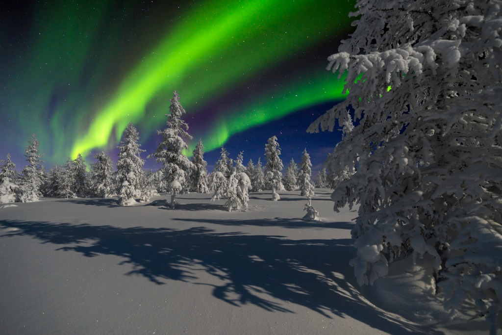 Where to See the Northern Lights Sweden
