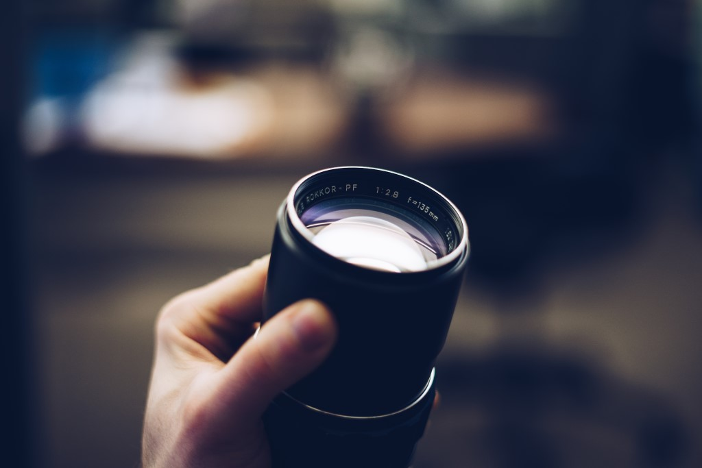 Digital Camera Parts The Lens image