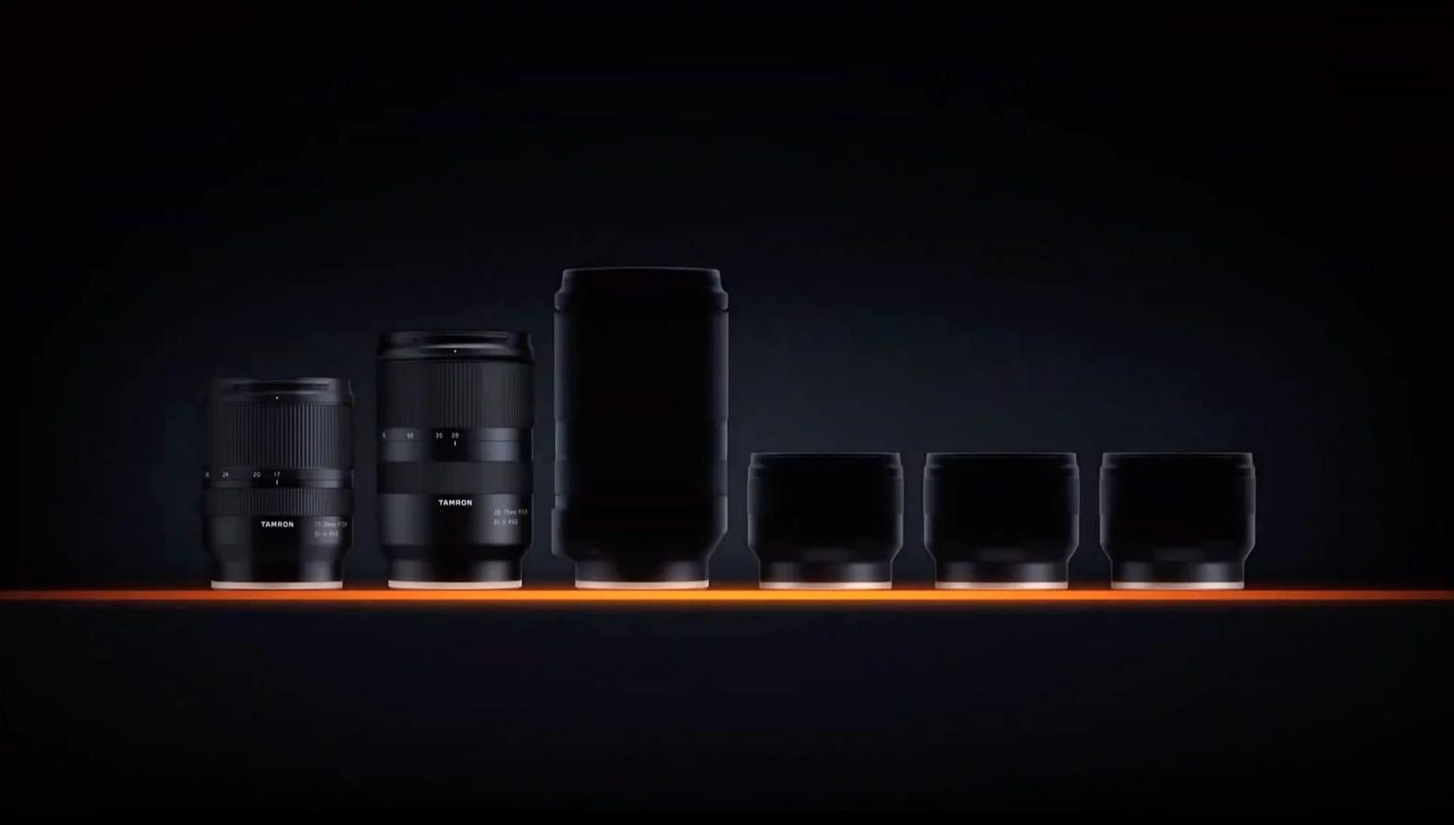 new tamron e mount lenses image
