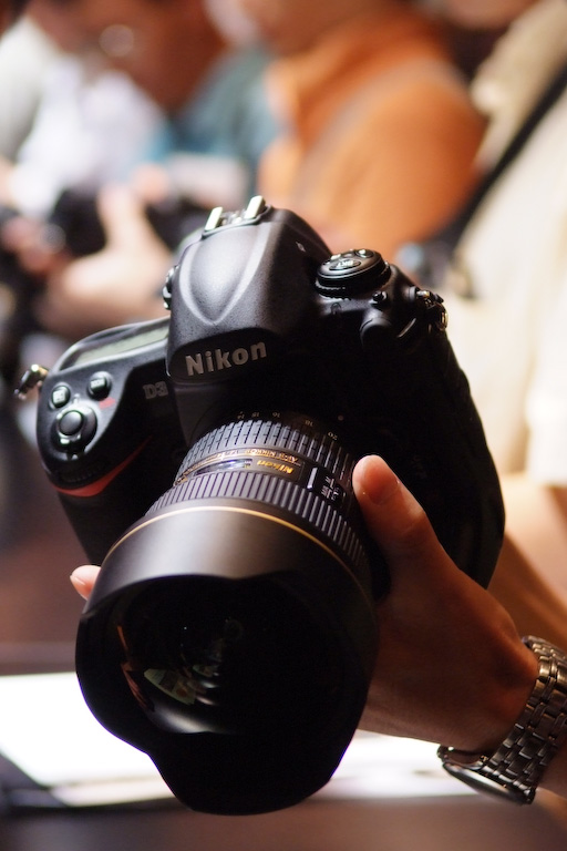 Nikon D3 Build Handling image