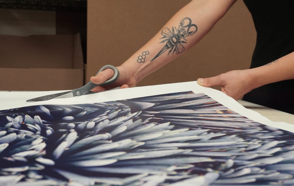 How Canvas Prints Are Made 1 image