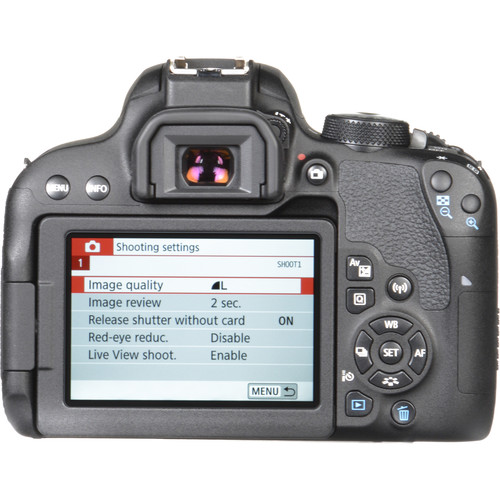 Canon T7i Build Handling 1 image