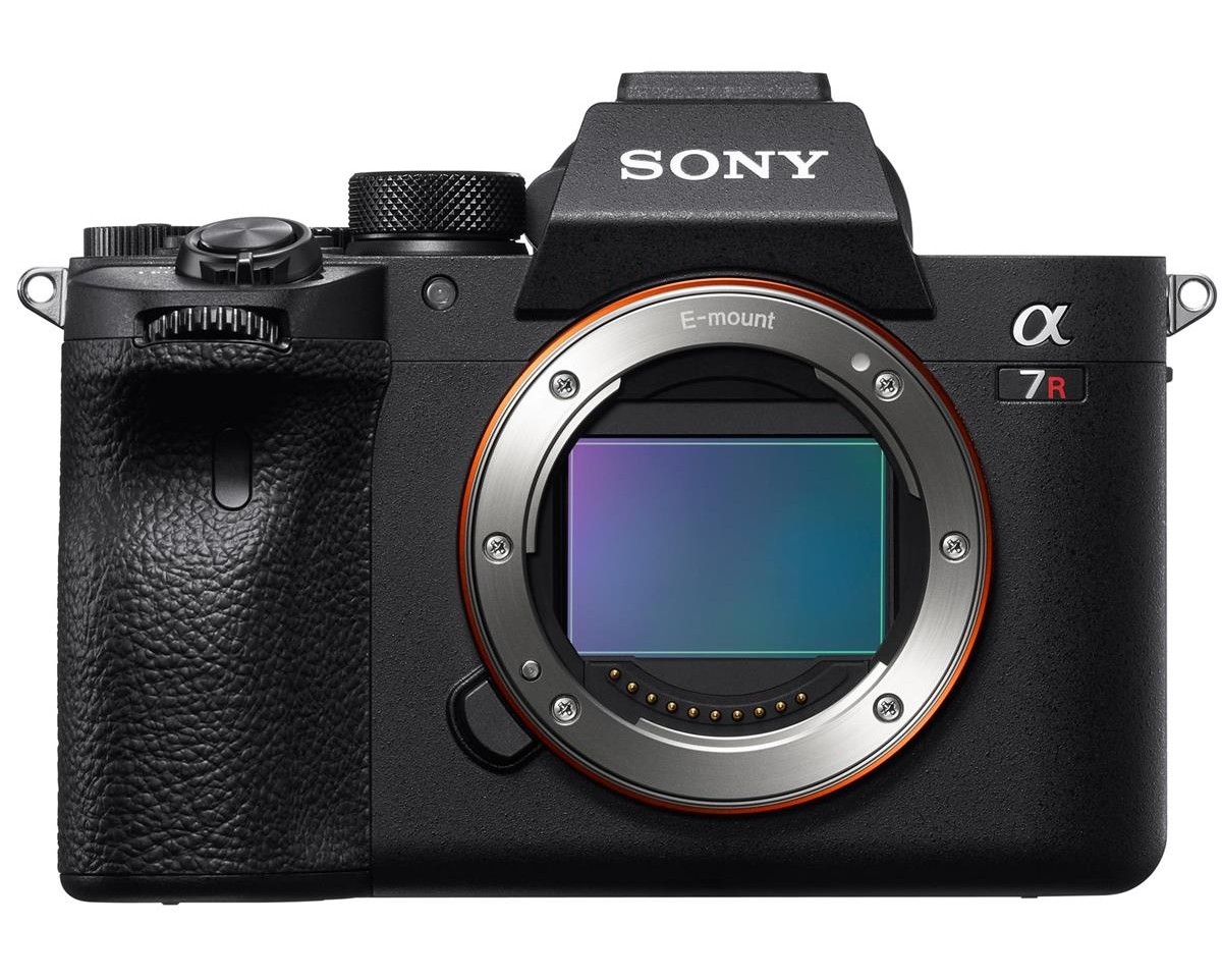 sony a7r iv front