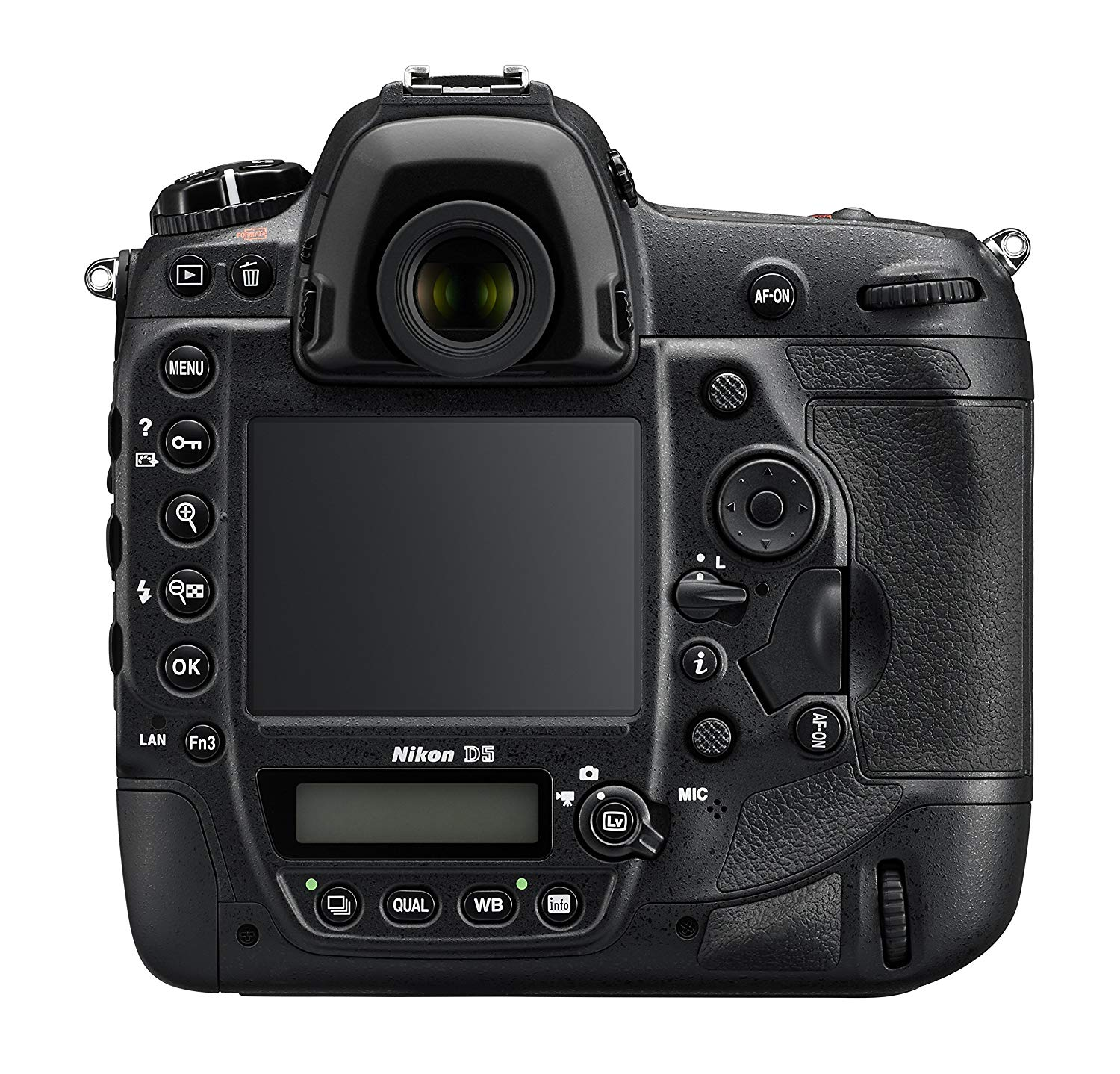 The Nikon D5 Body and Design 2 image