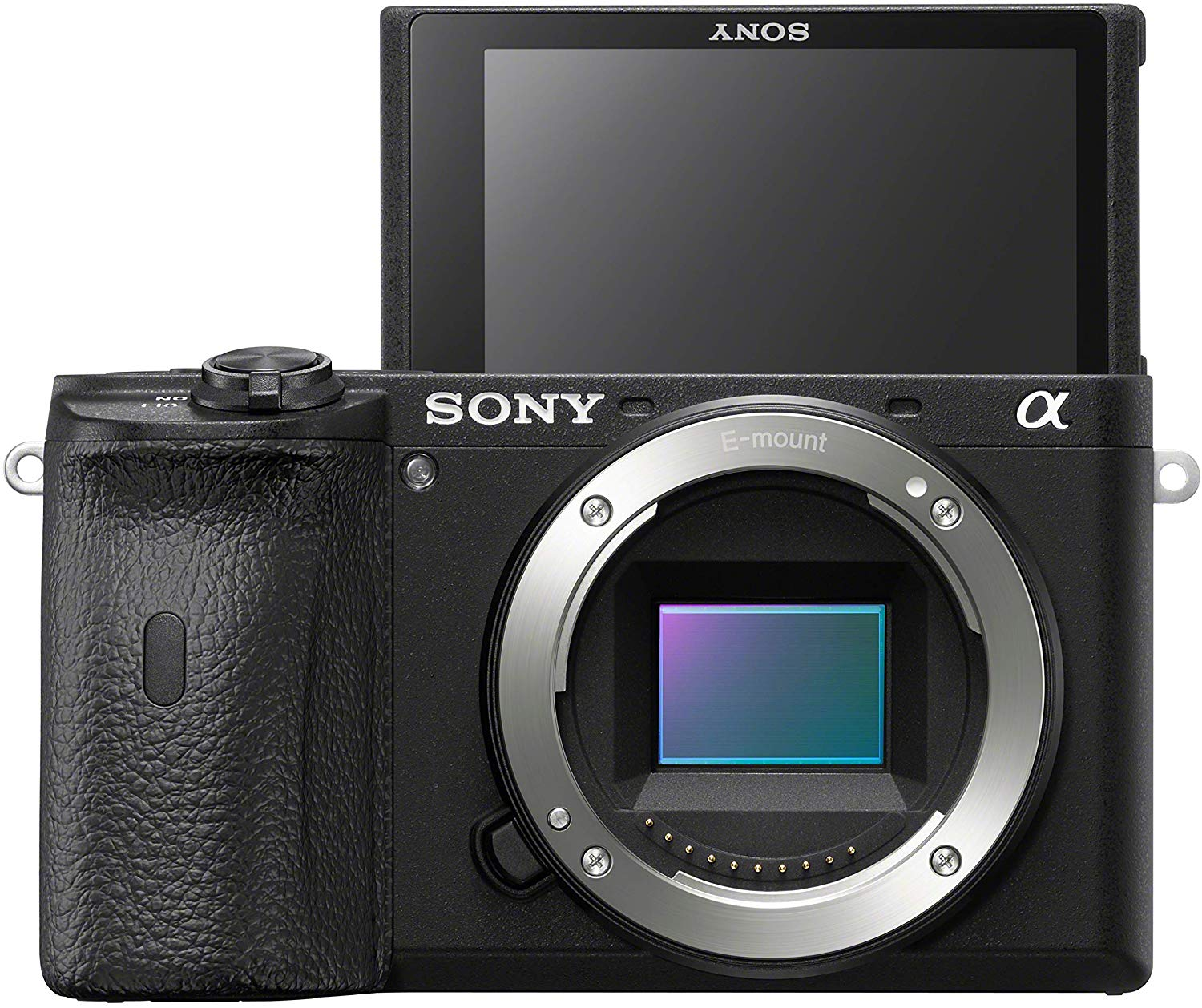 Sony a6500 vs a6600 Body Design 2 image