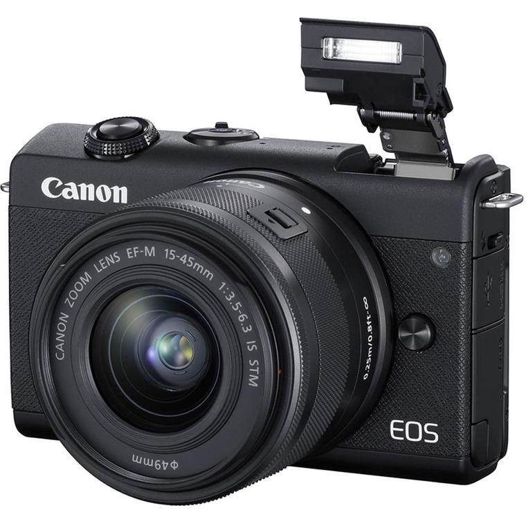canon eos m200 shoots 4k