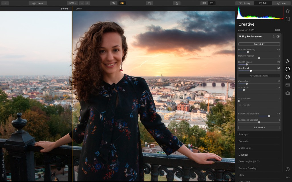luminar 4 turns hours of editing into minutes image