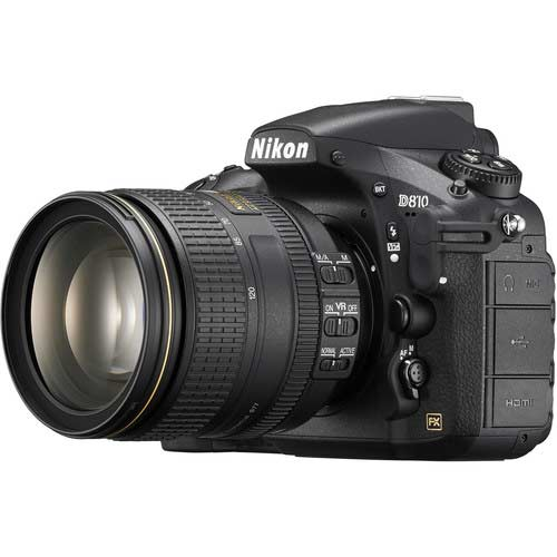 nikon d810 with lens image