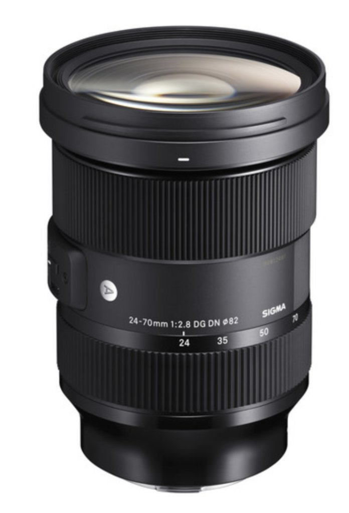 new sigma 24 70mm lens image