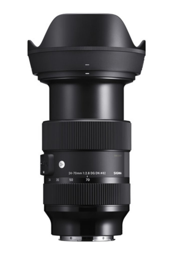 sigma 24 70mm e mount lens image