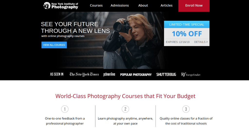 new york institute of photography best online photography schools image