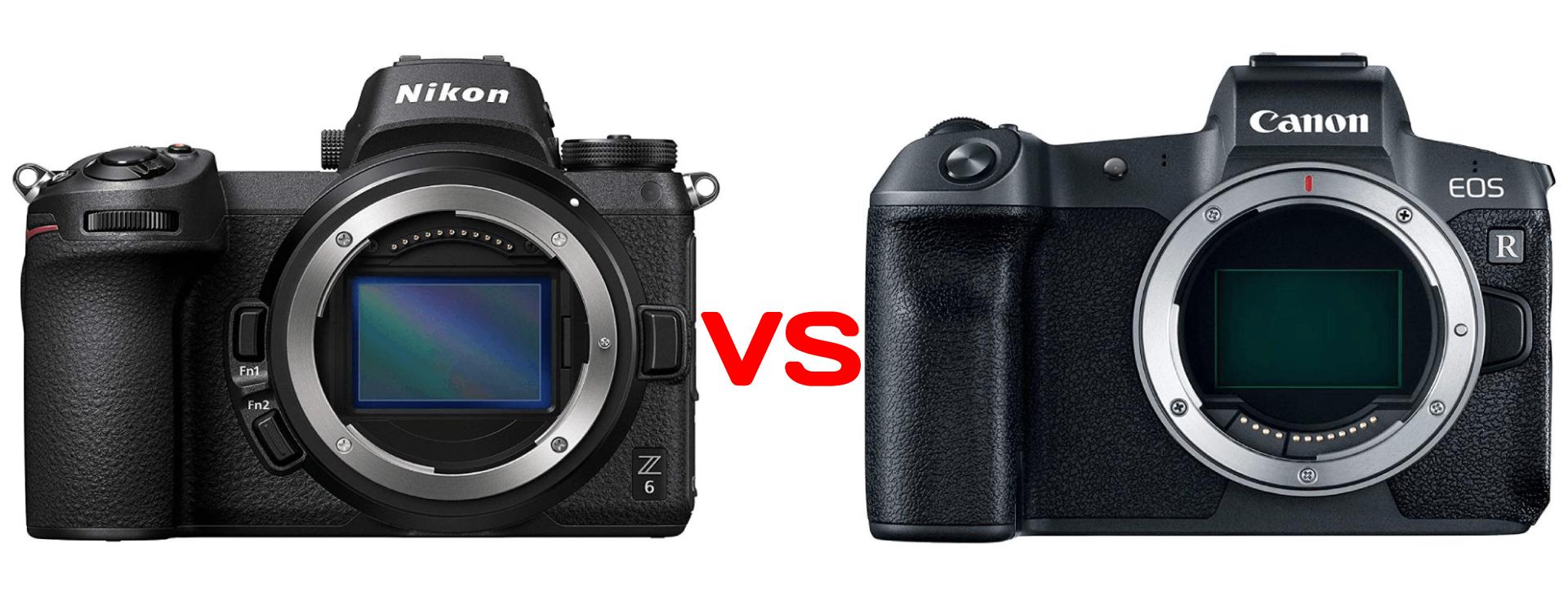 nikon z6 vs canon eos r image