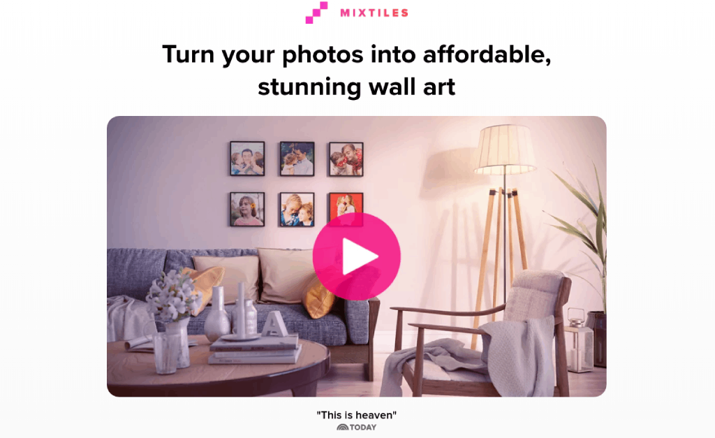 what is a mixtiles image