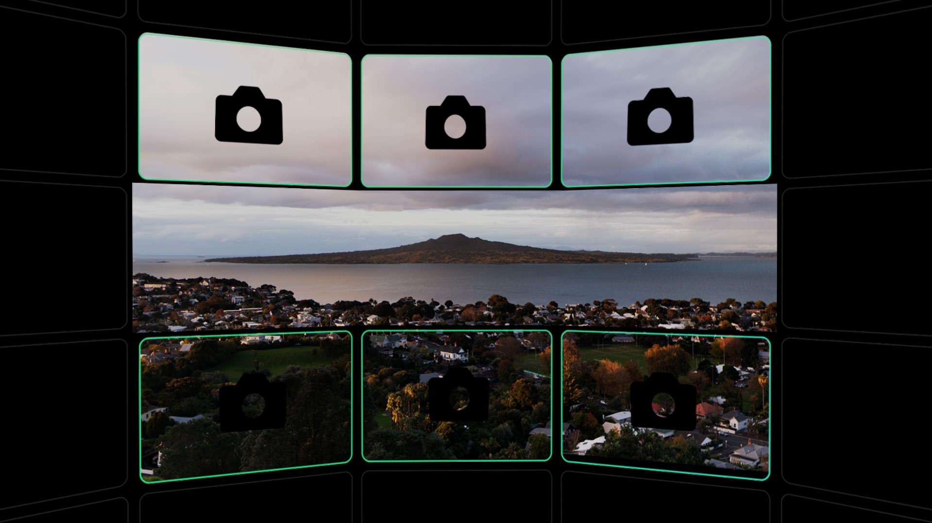 syrp multi row panorama image
