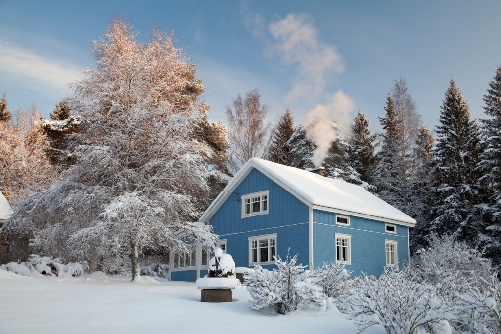 wintertime real estate photography 1