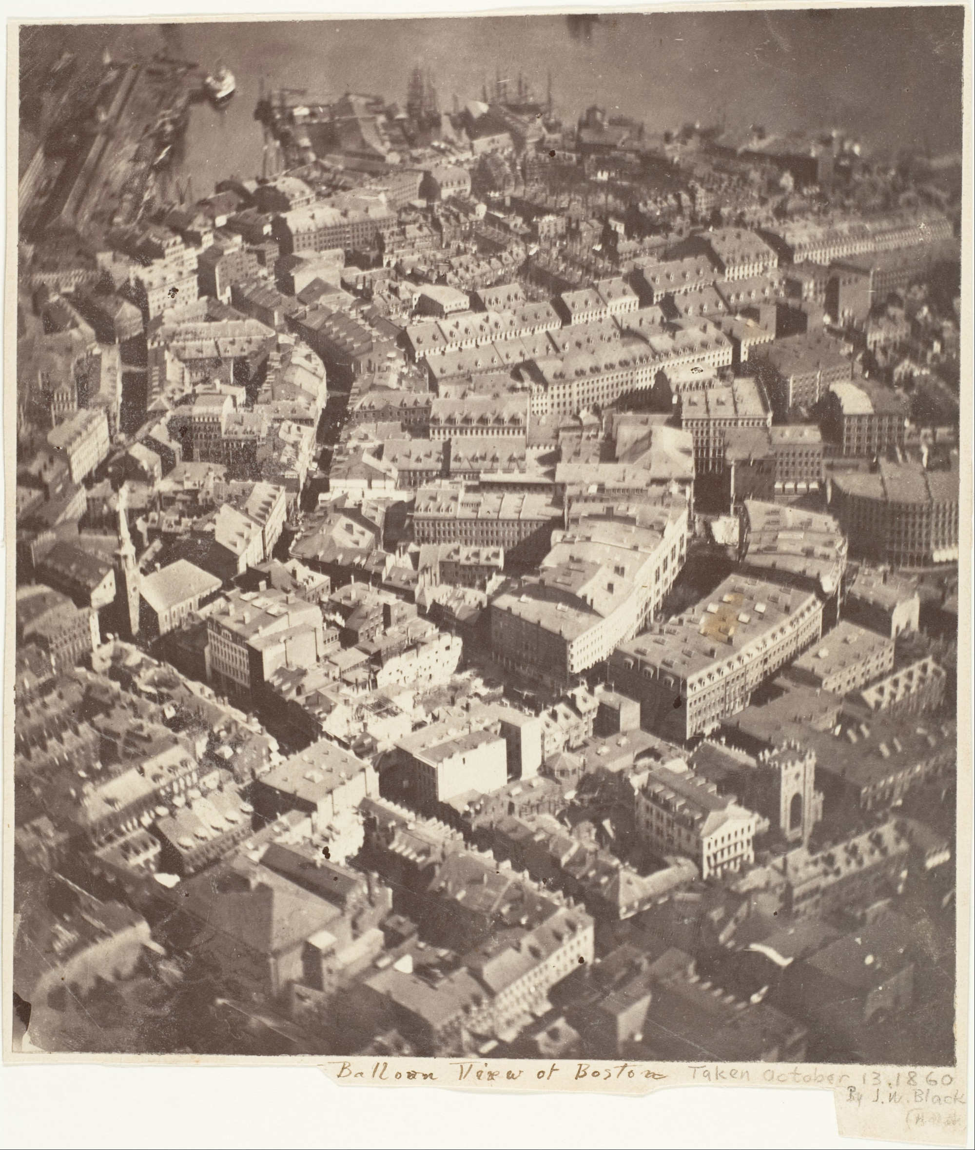 First Aerial Photograph image
