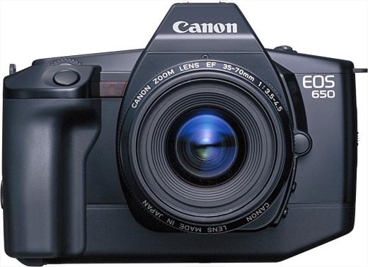 canon eos 650 image