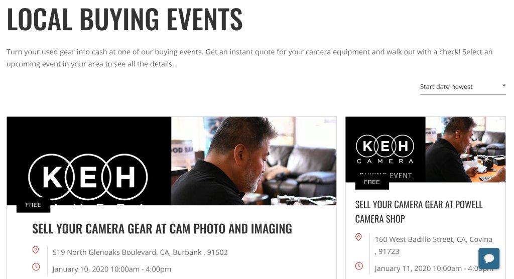 keh camera store image