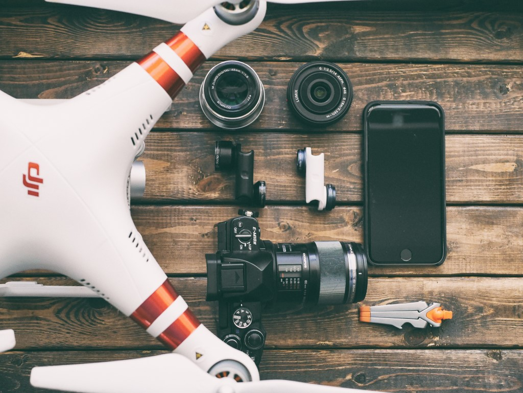 Videography Tip Using a Drone for B Roll image