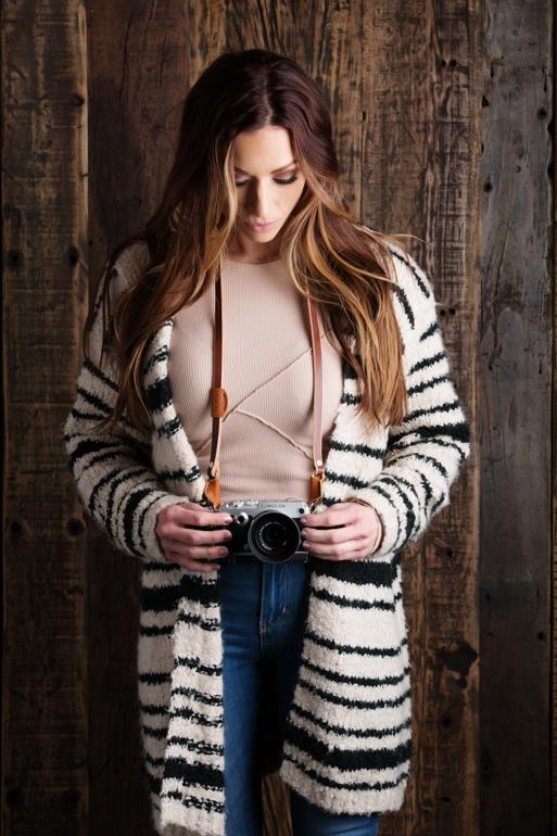 best budget leather camera strap image