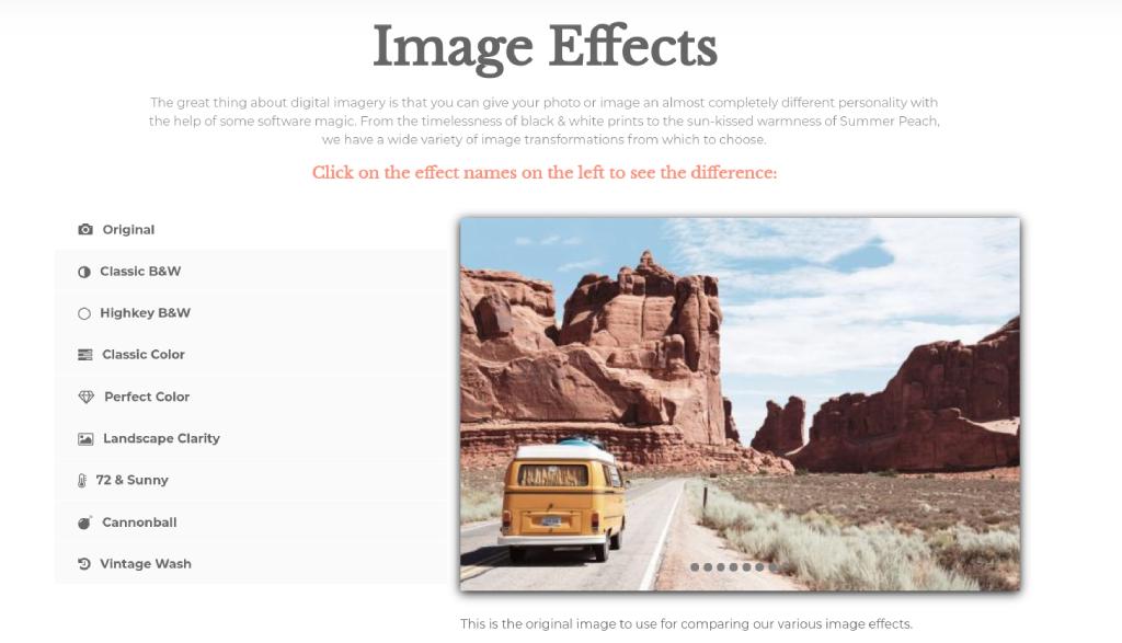 image effects image
