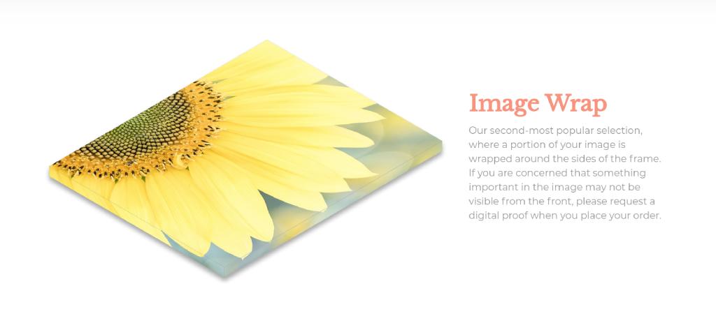 image wrap image