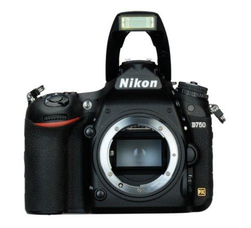 Nikon D750 Body Design image