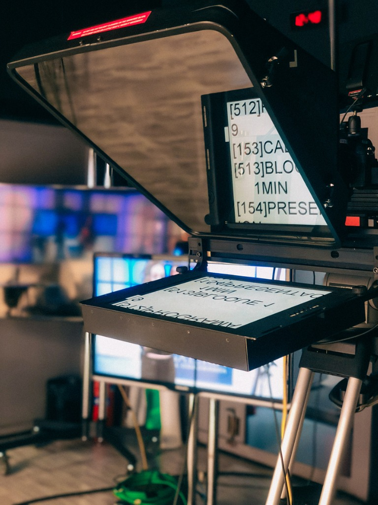 How to Master the Use of a Teleprompter