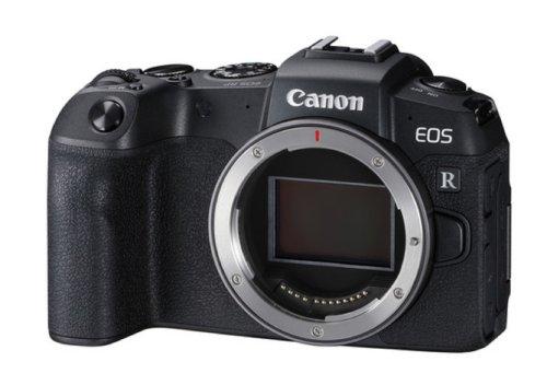 canon eos rp body design image
