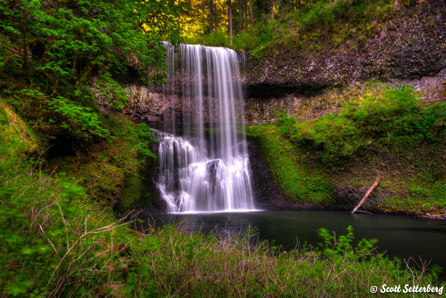 oregon waterfalls image