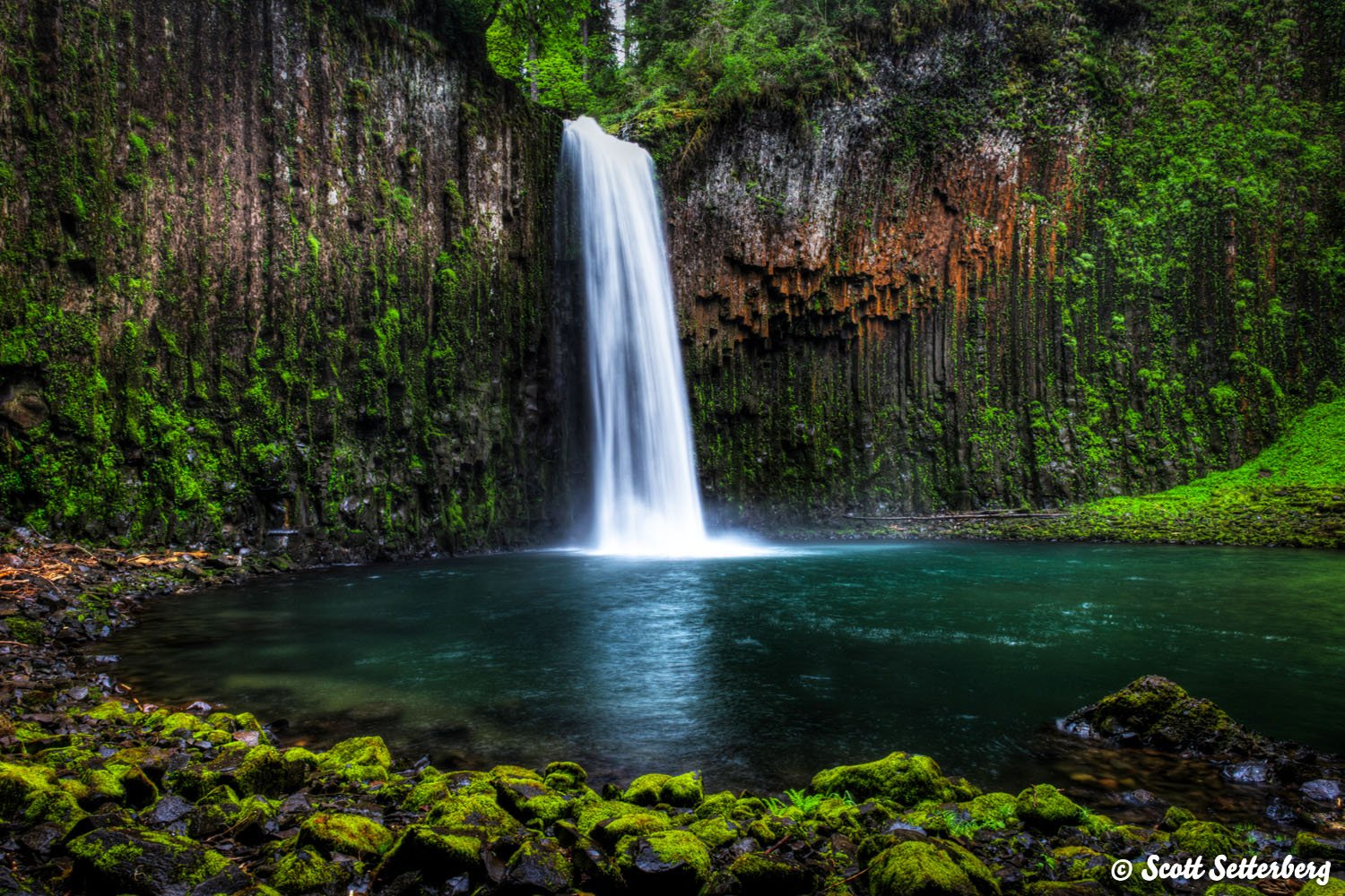 waterfalls in oregon image